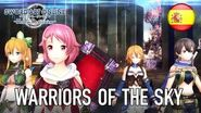 Sword Art Online Hollow Realization - PS4 PS Vita - Warriors of the Sky (Spanish Trailer)