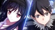 PS Vita「アクセルワールド VS ソードアート・オンライン 千年の黄昏」 ティザープロモーション映像