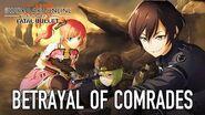 Sword Art Online Fatal Bullet - PS4, XB1, PC - Betrayal Of Comrades (DLC 2 trailer)