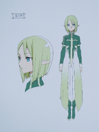 Second Season Animation Art Book Erica concept