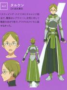 Talken's character designs (booklet)
