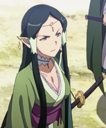 Sakuya luego de ver el grupo de asalto de los Salamanders