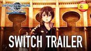 Sword Art Online Hollow Realization - Nintendo Switch - Trailer (Español)