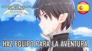 Sword Art Online Lost Song - PS4 PSVita - Haz equipo para la aventura (Spanish Multiplayer trailer)