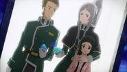 Sinker, Yui y Yuriel