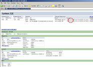 Portaal systeeminfo screenshot