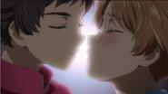 Kazuki and Enta attempt to kissing