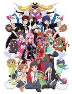 Kunihiko Ikuhara Exhibition Poster