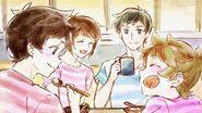 Family Breakfast by Natsuho Iwaida