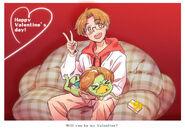 Happy Valentine's Day 2020 by Kayoko Ishikawa