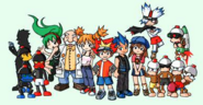 Saru Battle Character Concept 4