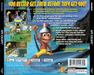 Ape Escape NTSC Back Cover