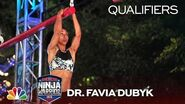 Dr Favia Dubyk at the Dallas Qualifiers