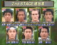 SASUKE 15's First Stage Clears