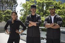-14 Team Ronin- Flip Rodriguiez (Captain), JJ Woods, and Tiana Webberly (Team Ninja Warrior Season 2)..JPG