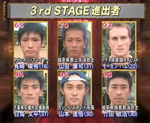 SASUKE 15's Second Stage Clears.png