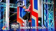 Brian Kretsch Surprises All - American Ninja Warrior Los Angeles City Finals 2019