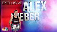 Alex Weber Takes His Shot at the Course - American Ninja Warrior LA City Qualifiers 2019 (Exclusive)