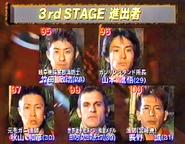 SASUKE 12's Second Stage Clears B