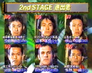SASUKE 12's First Stage Clears B