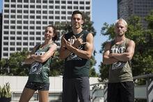 -11 Team TNT- Travis Rosen (Captain). Brett Sims and Marybeth Wang.JPG