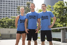 -16 The Ninja Brittens- Geoff Britten (Captain)., Mike Chick and Jessica Britten (Team Ninja Warrior Season 2)..JPG