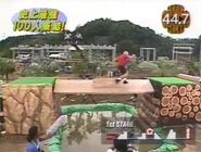 SASUKE 4's Yureru Hashi