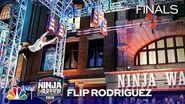 Flip Rodriguez's Stunning Run - American Ninja Warrior Los Angeles City Finals 2019