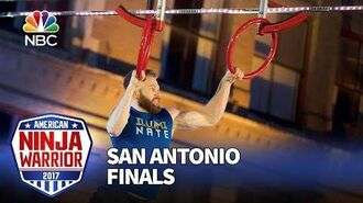 Nate_Burkhalter_at_the_San_Antonio_City_Finals_-_American_Ninja_Warrior_2017