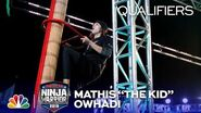 "Mathis ""The Kid"" Owhadi Faces the Mega Wall - American Ninja Warrior Oklahoma City Qualifiers 2019"