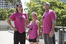 -13 Team Flowmingo- Alan Connealy (Captain). JB Douglas and Luci Romberg (Team Ninja Warrior Season 2)..JPG
