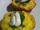 Frittatas aux petits pois et pancetta