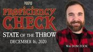 Proficiency Check - December 16, 2020