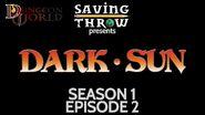 S1E2 Dark Sun