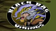 Black Bag Vikings Logo