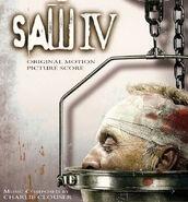 Saw IV Original Score Artwork