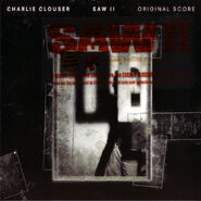 Saw II Official Score Cover