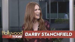 Darby Stanchfield Talks Scandal!