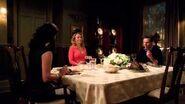 Mellie and Harmony Awkward Family Dinner - Scandal