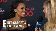 "Kerry Washington Talks 100th ""Scandal"" Episode E! Red Carpet & Live Events"