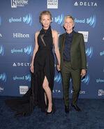 2015 GLAAD Awards - Portia and Ellen 2