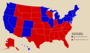 2018 United States Presidential Election Map