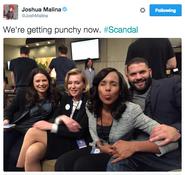 5x16 (02-25-16) Joshua Malina - Scandal Cast