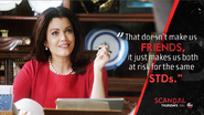 "4x09 - Mellie ""Friends and STDs"""