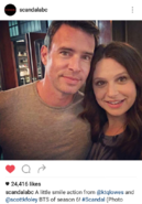 6x03 (09-03-16) Katie Lowes with Scott Foley