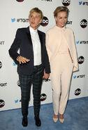 2014 LA TGIT Premiere Event - Portia and Ellen 02