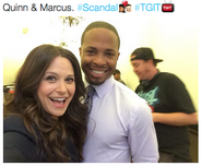 5x08 (10-16-15) Katie Lowes - Quinn and Marcus
