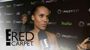 """""""Scandal"""" Cast Weighs In on Show's Presidential Race Live from the Red Carpet E! News"""