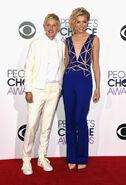 2015 PCAs - Ellen DeGeneres and Portia de Rossi 01
