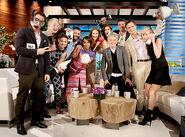 2014 Scandal on The Ellen Show - Scandal Cast 04